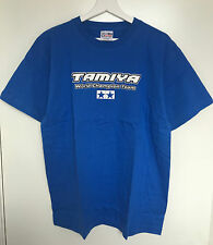 Tamiya 66789 Tamiya World Champion Team Blue Mens XL Short Sleeve T-Shirt NEW