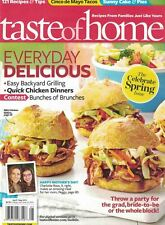 Taste of Home Magazine Apr/May 2013 Cinco de Mayo Tacos, Backyard Grilling More