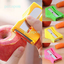 Mini Carrot Cucumber Sharpener Peeler Slices Kitchen Tool Vegetable Fruit Slicer