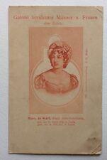 CPA. Madame de STAËL. 1766-1817. Paris. Histoire. Politique. Galerie. DND