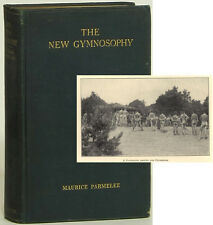 New Gymnosophy early nudism photos 1927 signed Maurice Parmelee first edition