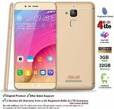 """Asus Pegasus 3 X008 5.2"""" Dual SIM Android 6 Smartphone Quad Core 3GB RAM 32GB"""