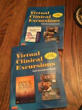 Virtual Clinical Excursions Lot Of 2 Fundamentals Of Nursing Medical Surgical Nu