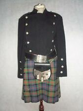 VINTAGE SCOTTISH KILT JACKET,KILT,BELT,SPORRAN,SOCKS, KILT PIN,TIE