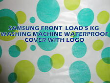Front Load Washing Machine For Samsung With LOGO  Waterproof Cover Upto 6.5 kg