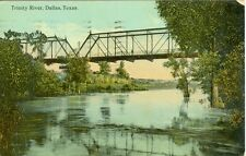 Dallas, TX The Trinity River Bridge 1912