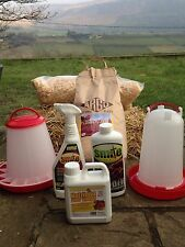 POULTRY KEEPING STARTER KIT Chicken Hen, just add coop and chickens!