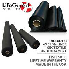 Anjon LifeGuard CLGUG 15X20 15-Foot by 20-Foot 45 mil EPDM Pond Liner Geo Combo