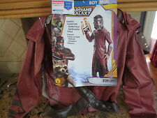 Marvel Guardians of the Galaxy Star Lord Child Deluxe Costume- Size M (8)