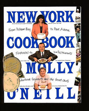 NEW YORK COOKBOOK-ETHNIC RECIPES-MOLLY O'NEILL-CITY MEALS ON WHEELS FUND RAISER