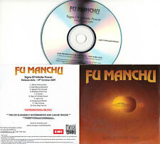 FU MANCHU Signs Of Infinite Power UK 10-tk watermarked promo test CD