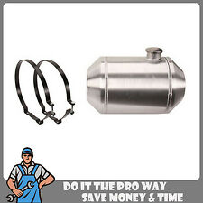 16 x 10 End Fill Spun Aluminum Gas Tank  5 Gallon  - Off-road / Tractor Pull