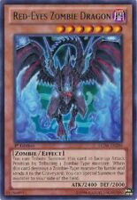 RED EYES ZOMBIE DRAGON Yugioh MINT Rare Card LCJW-EN206