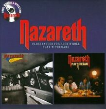Close Enough for Rock 'n' Roll/Play 'N' the Game [Digipak] by Nazareth (CD,...