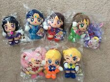 Sailor Moon Plush Mars Mercury Jupiter Venus Saturn Uranus Supers Stars II NEW
