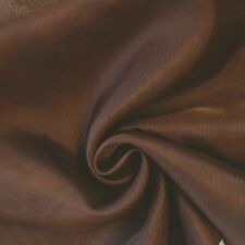 """Sheer Voile Fabric 118"""" Wide Curtain Drapery and Apparel per yard 100% polyester"""