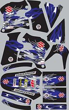 1996-1998 Suzuki RM250 RM 250 Graphics Decal fender shrouds Stickers