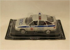 Russian Models,CX 4248  Russian Police car  1/43 Scale Silver New Tracked48 Post