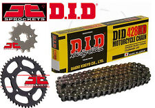 DID Heavy Duty 428 Chain & JT Sprocket Upgrade Kit Yamaha MT125 (ABS) 2015-2016