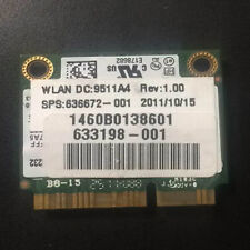 HP Intel Centrino Advanced-N 6230 62230ANHMW WiFi mini pcie half Card 636672-001