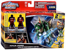 POWER RANGERS SUPER MEGAFORCE NINJA ZORD WITH 2 RANGER KEYS ... RARE!!!