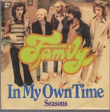 """7"""" Family (Chapman) In My Own Time / Seasons 70`s Warner Reprise"""