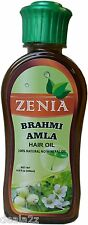 200ml Zenia Brahmi Amla Hair Oil 100% Natural No Mineral Oil hair fall control