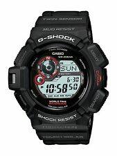 Brand New Casio G-Shock G-9300-1 Wrist Watch Mudman Tough Solar Black