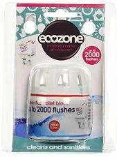 Ecozone Forever Flush 2000 - Toilet Cleaner and Freshener - Last for up to 2000