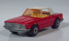"Matchbox Lesney Superfast No 6 Mercedes 350SL 3"" Die Cast Scale Model Red White"