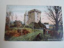 Vintage Colour Postcard BLARNEY CASTLE, Cork Franked & Stamped 1906
