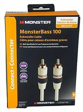 Monster Cable MonsterBass 100 Subwoofer Audio Cable 16 Ft (5M)