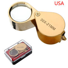 30x 21mm Jewelers Eye Loupe Magnifier Magnifying glass USA