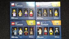 COMPLETE SET LEGO MINI FIGURES 2016 OCTOBER / BRICKTOBER SET OF 16 TOY FIGS