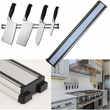 Wall Mount Knife Rack Magnetic Utensil Holder 36 cm Stainless Steel Professional