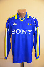 JUVENTUS ITALY 1995/1996 AWAY FOOTBALL SHIRT MAGLIA JERSEY KAPPA LONG SLEEVES