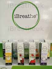 20x iBreathe eShisha Liquids Zero Nicotine - All Flavours Available