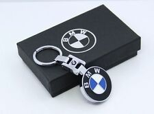 3D Chrome Pendant Keychain Key Chain Ring For BMW M1 M3 M5 M6 X1 X3 X5 X6 Z4