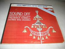 FREDERICK FENNELL EASTMAN WIND ENSEMBLE SOUSA MARCHES LP NM Mercury SR90264 1960