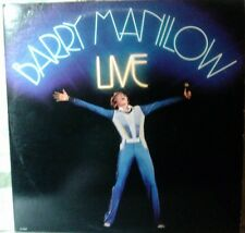 Barry Manilow Live. Double Lp 12 inch 33 rpm