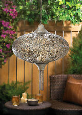 PLUME HANGING CANDLE LAMP WONDERFUL FOR AN OUTDOOR ACCENT !