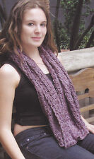 Crochet Pattern ~ LADIES BROOMSTICK LACE SHAWL ~ Instructions