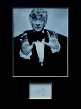 JON PERTWEE signed autograph PHOTO DISPLAY Doctor Who Dr Who