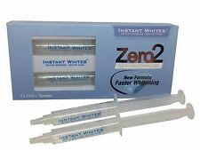 Zero2 Teeth Whitening Gel CE Certified 2 x 5ml Syringes