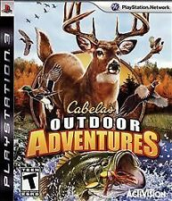 Cabela's Outdoor Adventures (Sony PlayStation 3, 2009) Factory Sealed