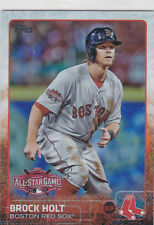 2015 Topps BROCK HOLT Rookie Pulsar All-Star Game Card # US128 Red Sox, HOT!