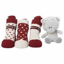 Me to You - Christmas 3 Pairs of Socks & Plush Bear - Tiny Tatty Teddy