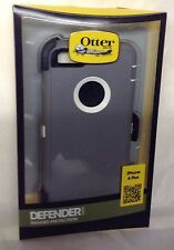 NEW OEM Otterbox Defender Series With Belt Clip for iPhone 6 Plus - Gray / White