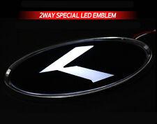 White Red 2Way LED Rear Trunk K Logo Emblem Badge 1EA For 11~2015+ Kia Sportage
