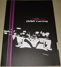 Le Mans 2012 - FIA WEC - Oak Racing Press Media Kit Dossier De Presse Pressmappe